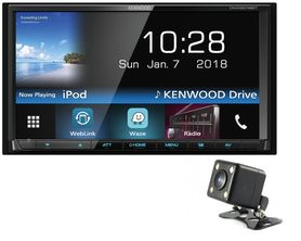 Kenwood DMX6018BT + kamera CMD320