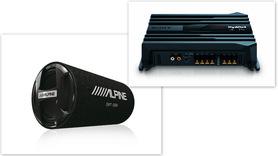ALPINE SWT-12S4 + SONY XM-N502