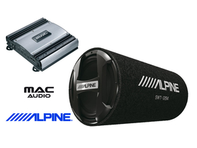ALPINE SWT-12S4 + MAC AUDIO MPX 2000