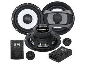 Głośniki samochodowe CRUNCH GTI6.2C