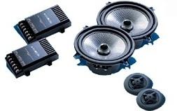 Głośniki samochodowe AUDIOMEDIA EX 52K