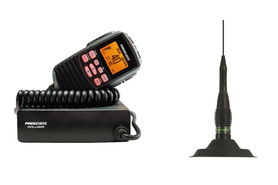 CB Radio PRESIDENT WILLIAM ASC + ANTENA ML 145 EXPORT