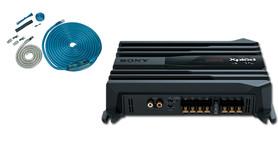SONY XM-N502 + OKABLOWANIE AUDISON