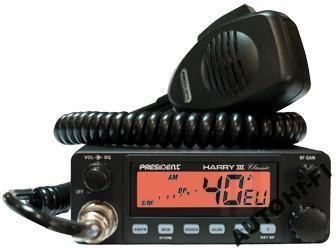 CB RADIO President Harry III ASC