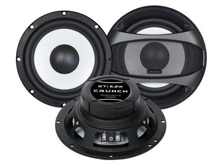 Głośniki samochodowe CRUNCH GTI6.2W BASOWE