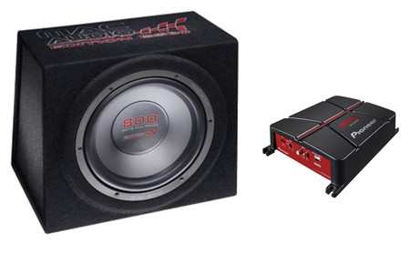 PIONEER GM-A3702 + MAC AUDIO BS 30