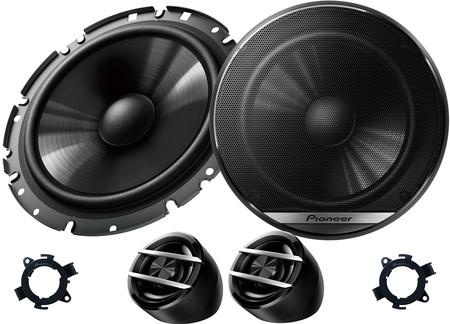 Głośniki samochodowe PIONEER TS-G170C + DYSTANSE DO OPLA