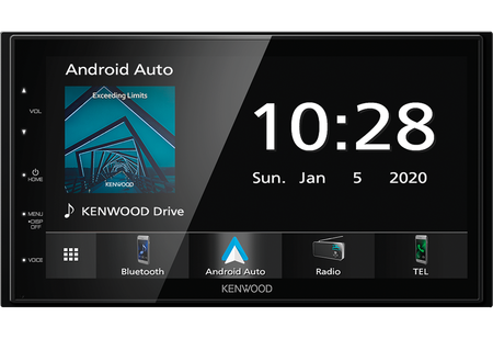 Kenwood DMX5020DABS + kamera cofania