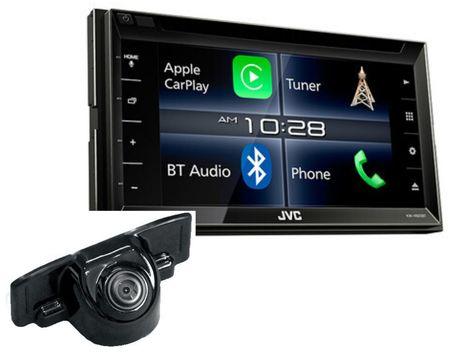 Radio JVC KW-V820BT + kamera RVC1