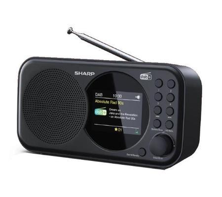Sharp DR-P320BK przenośne radio cyfrowe